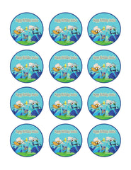 Adventure Time - Edible Cake Topper, Cupcake Toppers, Strips