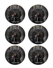 Game of Thrones - Edible Cake Topper, Cupcake Toppers, Strips