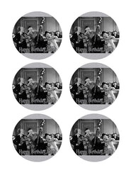 The Three Stooges (Nr2) - Edible Cake Topper OR Cupcake Topper, Decor