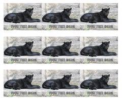 Black Panther - Edible Cake Topper, Cupcake Toppers, Strips