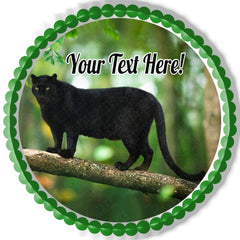 Black Panther (Nr2) - Edible Cake Topper, Cupcake Toppers, Strips