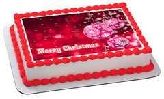 Christmas (Nr9) - Edible Cake Topper, Cupcake Toppers, Strips