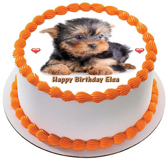 Puppy 2 Edible Cake Topper – Edible Prints On Cake (EPoC)