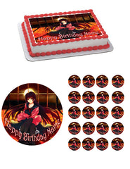 Kanoe Yuuko Edible Birthday Cake Topper OR Cupcake Topper, Decor - Edible Prints On Cake (Edible Cake &Cupcake Topper)