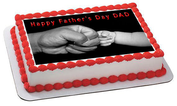 Father S Day 2 Edible Cake Topper Amp Cupcake Toppers