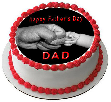 Fathers Day 2 Edible Cake Topper Cupcake Toppers Edible Prints