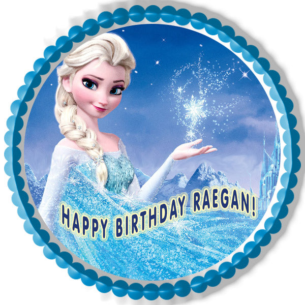 Frozen 1 Edible Birthday Cake Or Cupcake Topper Edible
