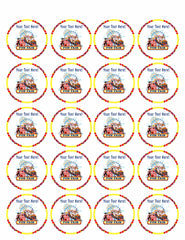 Fun Fair Rides - Edible Cake Topper, Cupcake Toppers, Strips