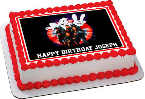 ghostbusters cake topper ghostbusters 2 edible cake topper amp cupcake toppers 4489