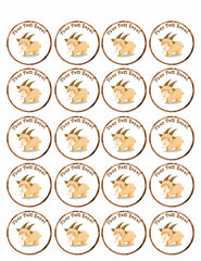 Goat - Edible Cake Topper, Cupcake Toppers, Strips