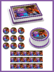 Home (II-2015) Edible Birthday Cake Topper OR Cupcake Topper, Decor - Edible Prints On Cake (Edible Cake &Cupcake Topper)