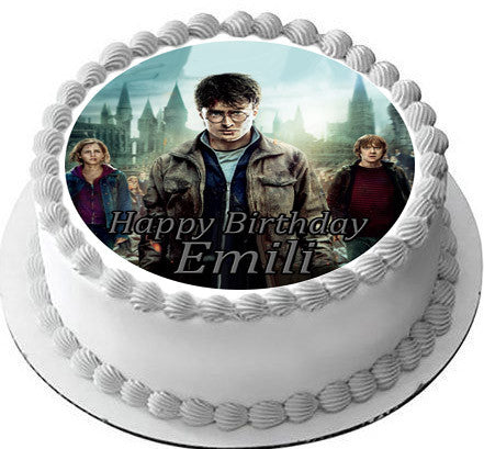 harry potter cake topper harry potter edible cake topper amp cupcake toppers edible 4731