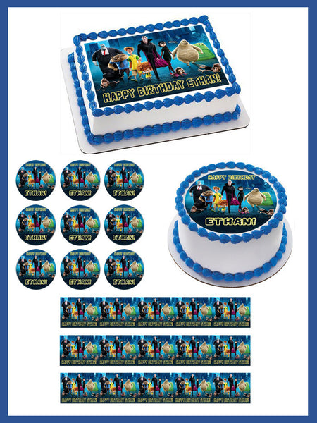 Hotel Transylvania Edible Cake Topper Amp Cupcake Toppers