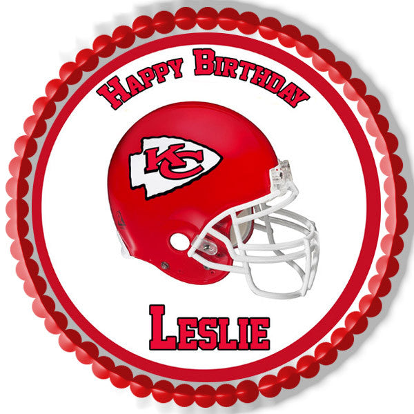 Kansas City Chiefs Edible Cake Topper Amp Cupcake Toppers