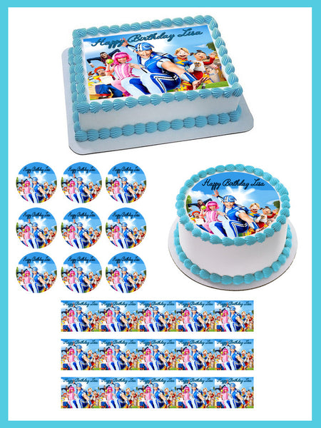 Lazy Town Edible Cake Topper Amp Cupcake Toppers Edible