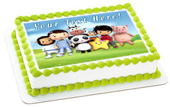 Little Baby Bum (Nr2) - Edible Cake Topper, Cupcake Toppers, Strips