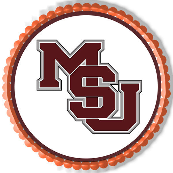 Mississippi State University Edible Cake Topper & Cupcake
