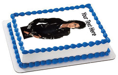 Michael Jackson - Edible Cake Topper, Cupcake Toppers, Strips