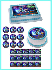 Miles From Tomorrowland Edible Birthday Cake Topper OR Cupcake Topper, Decor - Edible Prints On Cake (Edible Cake &Cupcake Topper)