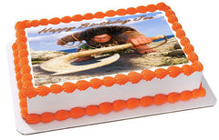 Moana 4 Maui Edible Birthday Cake Topper OR Cupcake Topper, Decor