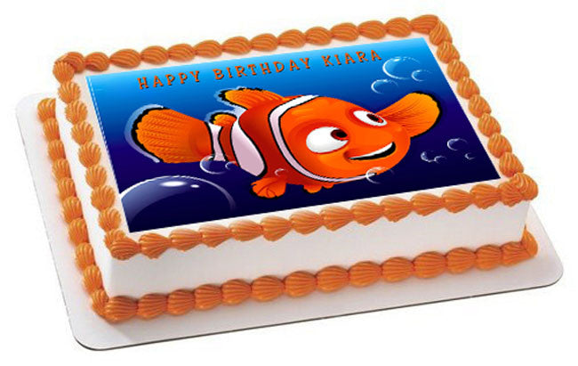 NEMO 2  Edible Birthday Cake Topper OR Cupcake Topper, Decor