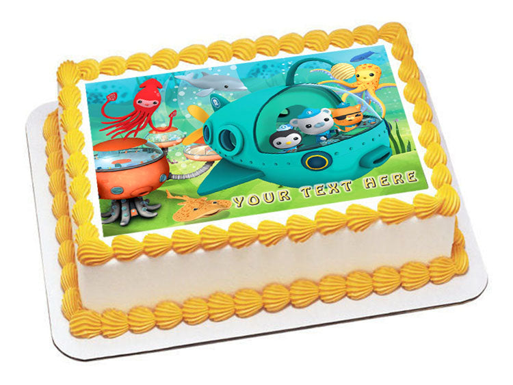 Wondrous 12 Pieces Cupcake Topper Cake Picks Octonauts Party Supplies Personalised Birthday Cards Veneteletsinfo