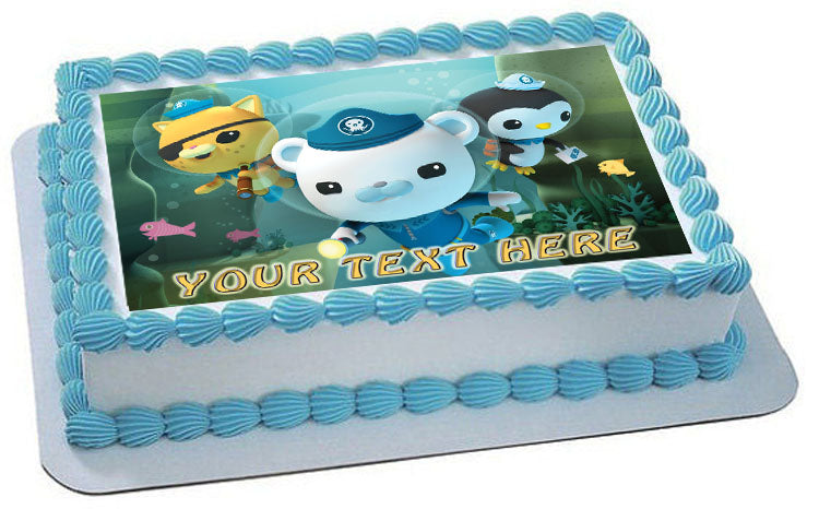 OCTONAUTS 1 Edible Birthday Cake Topper OR Cupcake Decor