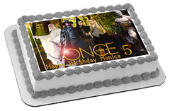Once Upon a Time Season 5 Edible Birthday Cake Topper OR Cupcake Topper, Decor - Edible Prints On Cake (Edible Cake &Cupcake Topper)