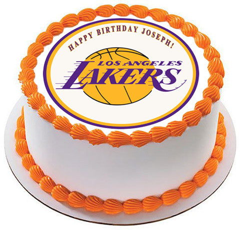 La Lakers Cake Images