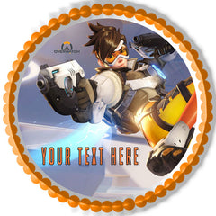 Overwatch - Edible Cake Topper, Cupcake Toppers, Strips