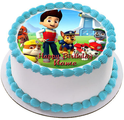Paw Patrol 2 Edible Birthday Cake Or Cupcake Topper