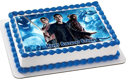 Percy Jackson 2 Edible Cake Topper Amp Cupcake Toppers