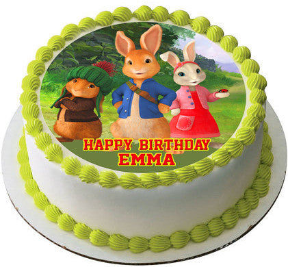 Peter Rabbit Edible Cake Topper Amp Cupcake Toppers Edible