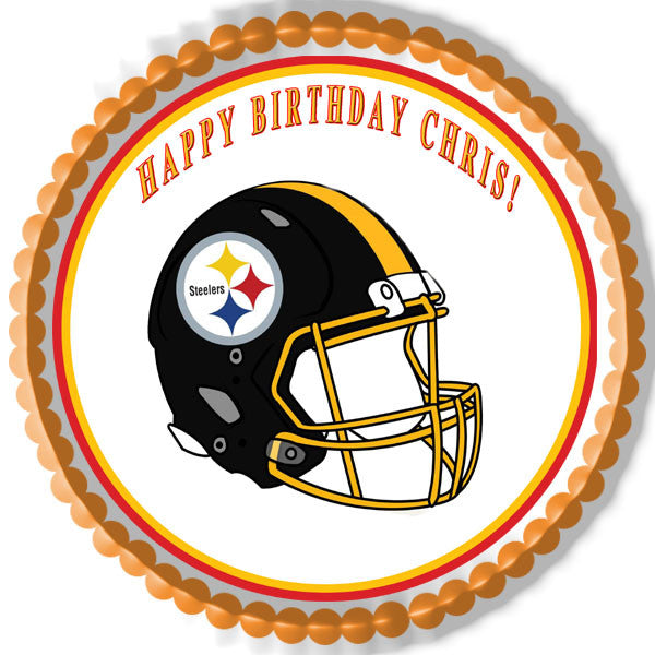 Other Baking Accessories Home Garden Pittsburgh Steelers 1 4 Or 1 2 Sheet Birthday Cake Topper Frosting Edible Icing Adrp Fournitures Fr