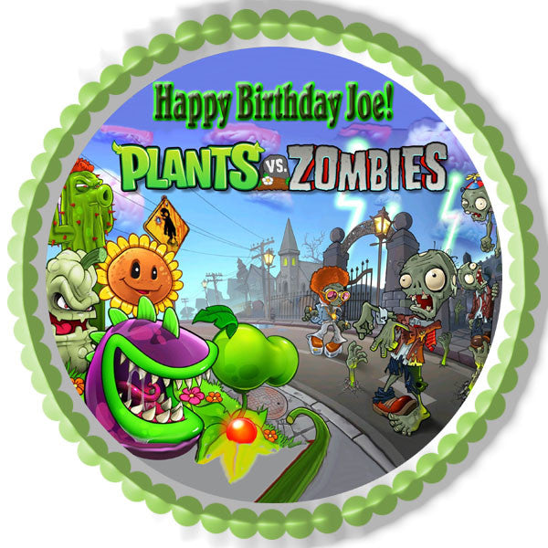 Plants Vs Zombies Cake Toppers