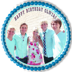 R5 Loud Ross Lynch Edible Birthday Cake Topper OR Cupcake Topper, Decor