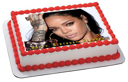 Outstanding How To Cake It Cake For Rihanna Thefinancely Com Birthday Cards Printable Inklcafe Filternl