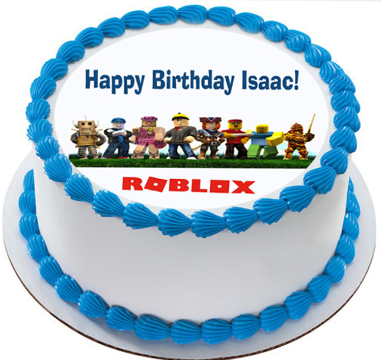 Roblox - Edible Cake Topper & Cupcake Toppers – Edible ...