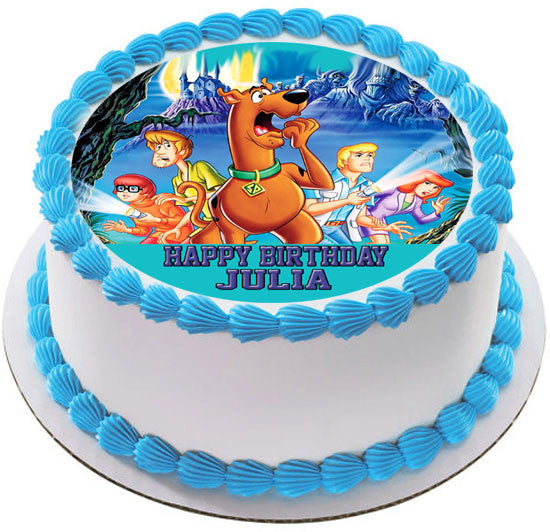Scooby-Doo (Nr2) - Edible Cake Topper or Cupcake Toppers ...