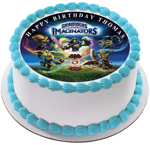 Skylanders Imaginators Edible Birthday Cake Topper Or Cupcake Decor