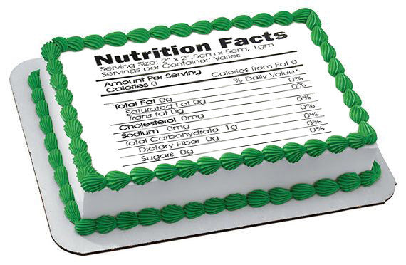 Instructions, Nutrition Facts, Kosher Certificat for edible shelf (not for sell, just info) - Edible Prints On Cake (Edible Cake &Cupcake Topper)