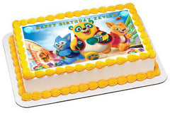 Special Agent Oso Edible Birthday Cake Topper OR Cupcake Topper, Decor