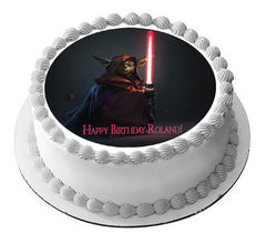 Star Wars 7 Edible Birthday Cake Topper OR Cupcake Topper, Decor - Edible Prints On Cake (Edible Cake &Cupcake Topper)