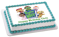 SUPER WHY (Nr4) - Edible Cake Topper OR Cupcake Topper, Decor
