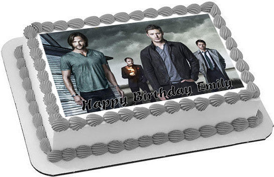 Supernatural Edible Cake Topper Amp Cupcake Toppers Edible