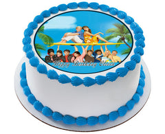 Teen Beach Movie 2 Edible Birthday Cake Topper OR Cupcake Topper, Decor - Edible Prints On Cake (Edible Cake &Cupcake Topper)