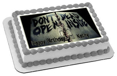 The Walking Dead 2 Edible Birthday Cake Topper OR Cupcake Topper, Decor - Edible Prints On Cake (Edible Cake &Cupcake Topper)