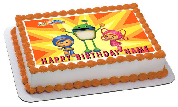 Team Umizoomi 1 Edible Birthday Cake Topper OR Cupcake Decor