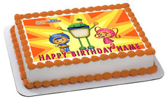 Team Umizoomi 1 Edible Birthday Cake Topper OR Cupcake Topper, Decor