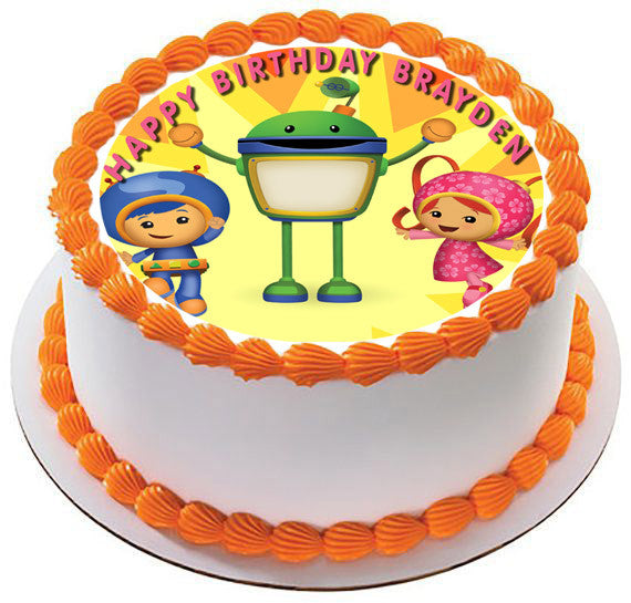 Umizoomi Edible Cake Topper
